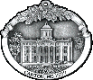 Canton, MS Courthouse custom pewter ornament - city of lights series