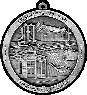 Martinsburg Sesquicentennial custom pewter ornament