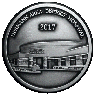 Hermann Area District Hospital, Hermann, MO, Anniversary custom pewter coin